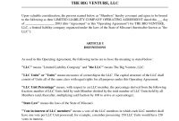 Free Sample Llc Operating Agreementkennwood  Llc Partnership with regard to Free Small Business Partnership Agreement Template