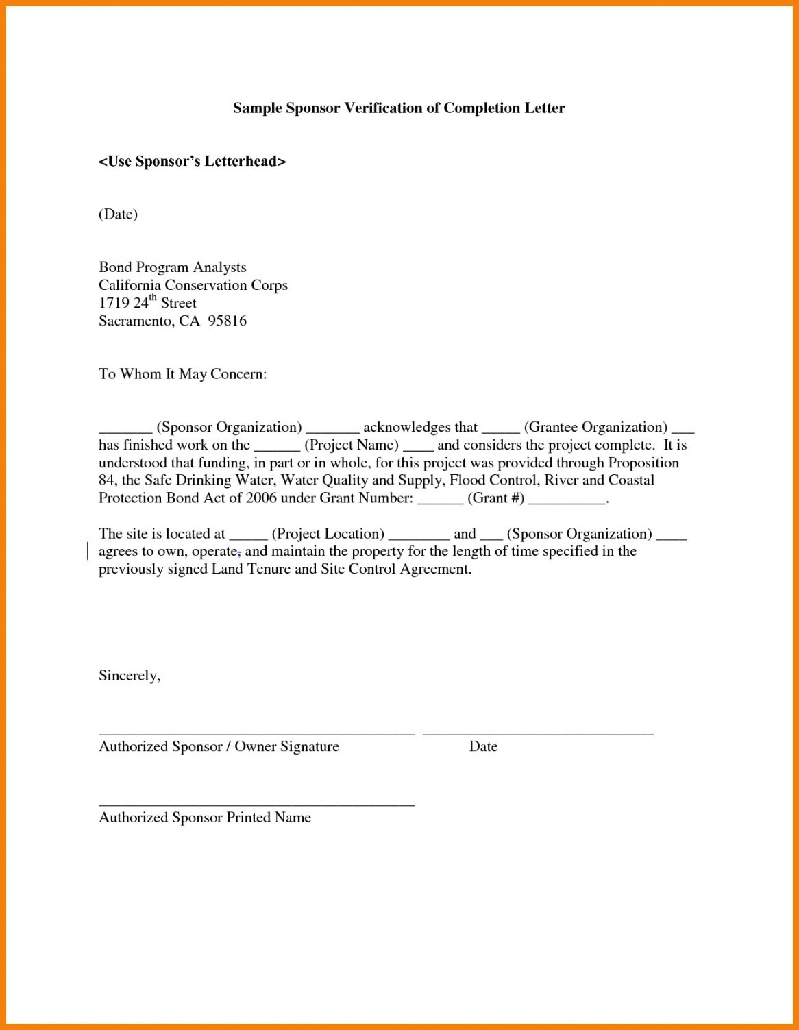 Free Sample Of Certificate Of Completion Of Construction Project In Certificate Of Completion Template Construction