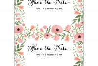 Free Save The Date Templates For Word  Nicegalleries regarding Save The Date Templates Word