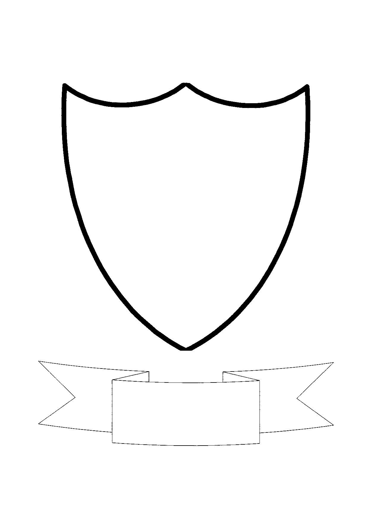 Free Shield Template Download Free Clip Art Free Clip Art On For Blank Shield Template Printable