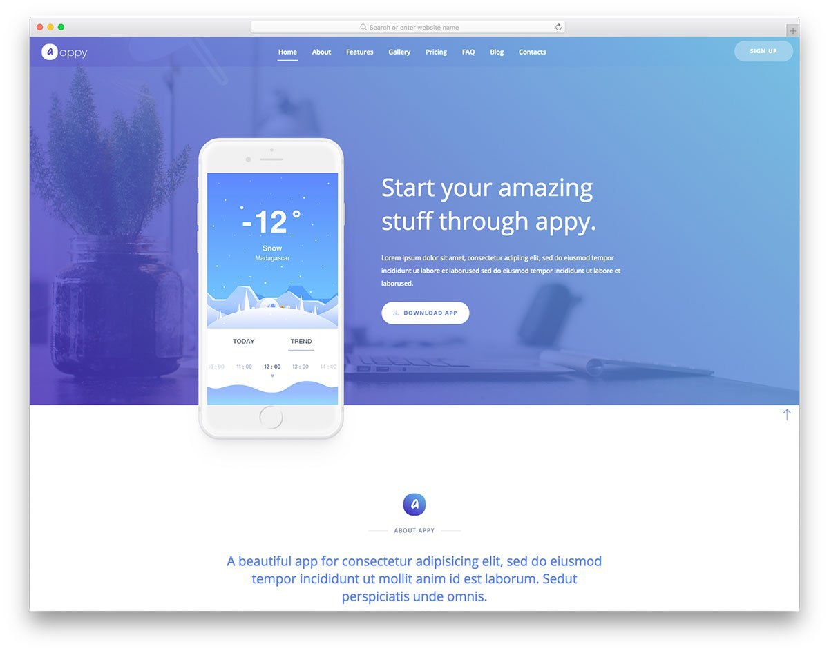 Free Simple Website Templates For Clean Sites Using Html  Css For Basic Business Website Template