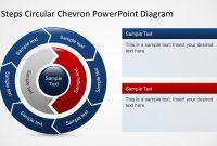 Free  Steps Circular Chevron Powerpoint Diagram pertaining to Powerpoint Chevron Template