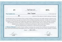 Free Stock Certificate Online Generator throughout Share Certificate Template Pdf