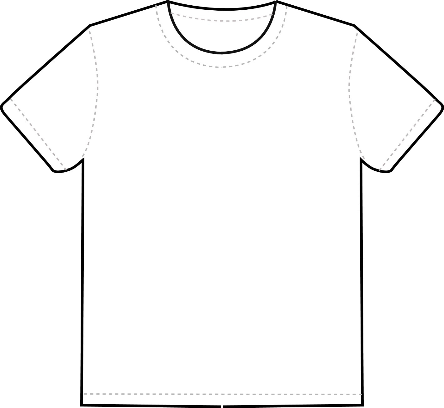 Free T Shirt Template Printable Download Free Clip Art Free Clip Intended For Blank Tshirt Template Pdf