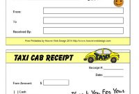 Free Taxi Receipt Templates  Make Your Taxi Receipts Easily in Blank Taxi Receipt Template