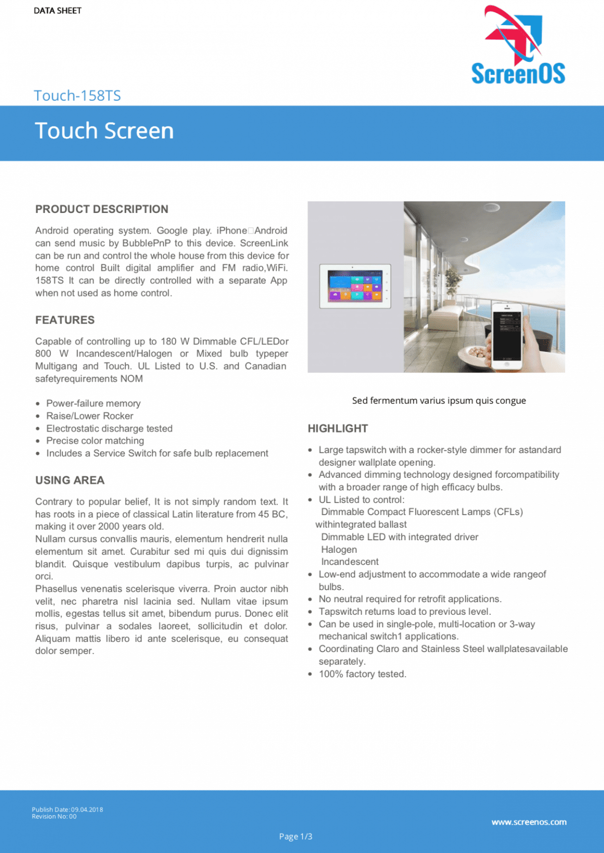Free Templates  Data Sheet Spec Sheet And More  Tdsmaker With Regard To Datasheet Template Word