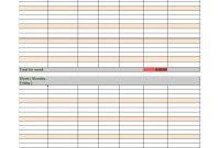 Free Timesheet  Time Card Templates ᐅ Template Lab regarding Weekly Time Card Template Free