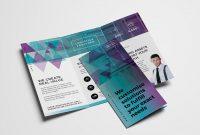 Free Trifold Brochure Template Vol In Psd Ai  Vector  Brandpacks with 2 Fold Brochure Template Free