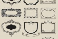 Free Vintage Label Templates  World Of Label intended for Antique Labels Template