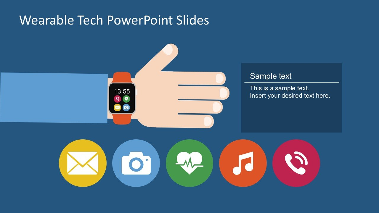 Free Wearable Technology Powerpoint Slide With High Tech Powerpoint Template