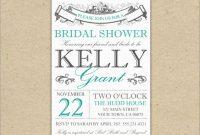 Free Wedding Shower Invitation Templates Fresh  Adorable Cheap regarding Blank Bridal Shower Invitations Templates