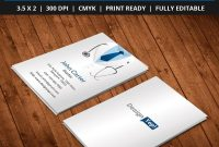 Freedoctorbusinesscardtemplatepsd  Free Business Card within Free Complimentary Card Templates