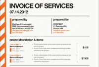 Freelance Graphic Design Invoice Template Pdf throughout Graphic Design Invoice Template Pdf