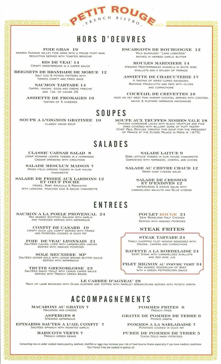 French Bistro Menu Template  Google Search  Menu  French Cafe In French Cafe Menu Template