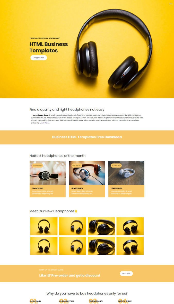 Fresh  Free Html Website Templates Themes Codes Of Intended For Template For Business Website Free Download
