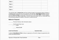 Fresh Free Installment Payment Agreement Template  Best Of Template in Installment Payment Agreement Template Free