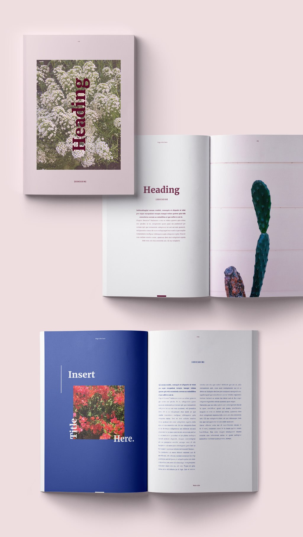 Fresh Indesign Templates And Where To Find More  Redokun Regarding Brochure Templates Free Download Indesign