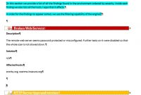 From A Sample Report To A Dradis Template  Dradis Pro Help intended for Technical Support Report Template