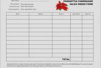Fundraising Calendar Template Free Prettier Beautiful Blank Sponsor regarding Blank Sponsor Form Template Free