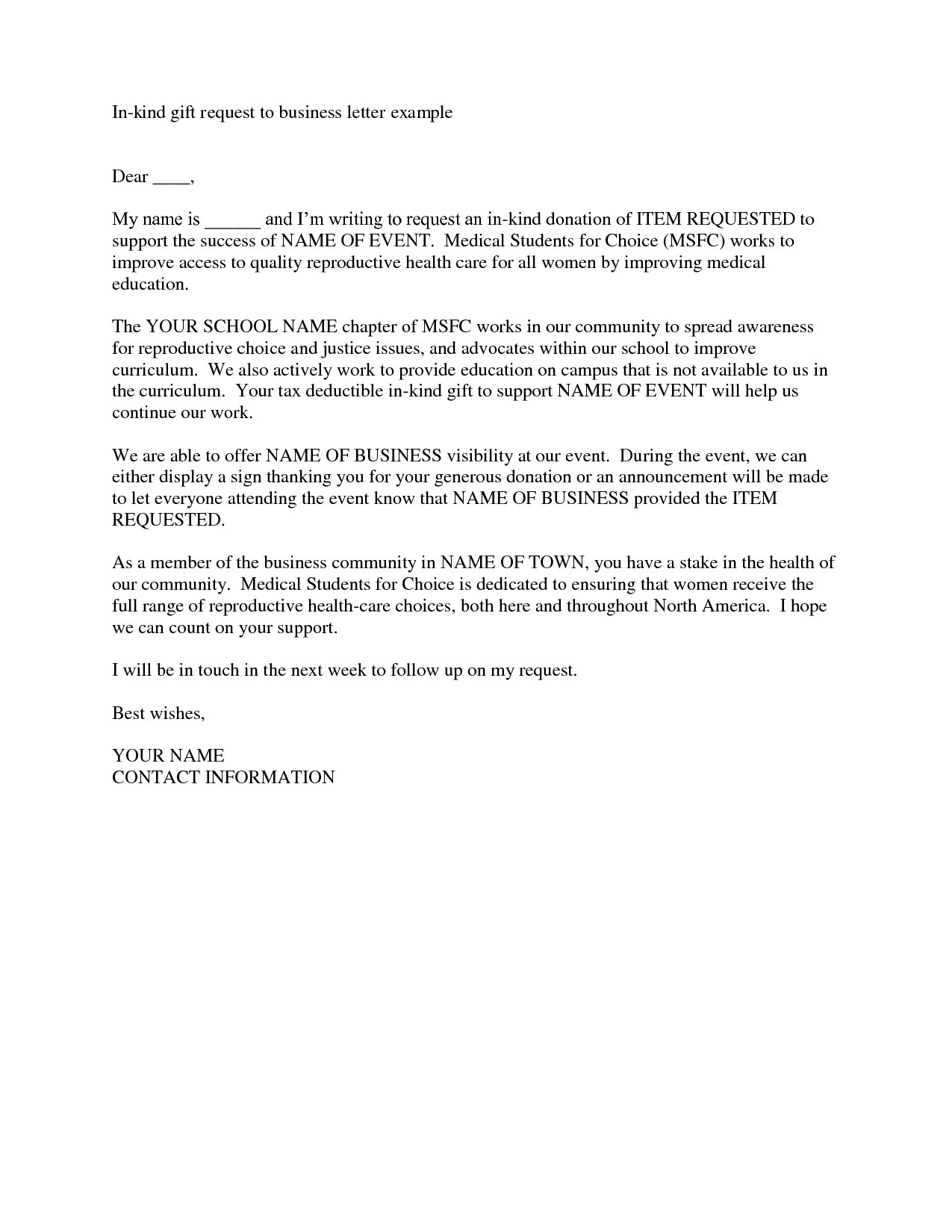 Fundraising Made Effortless With  Donation Request Letters Throughout Business Donation Letter Template