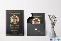 Funeral Invitation Card Design Template In Word Psd Publisher pertaining to Funeral Invitation Card Template