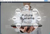 Future Technology Presentation Template  Prezibase within Powerpoint Templates For Technology Presentations