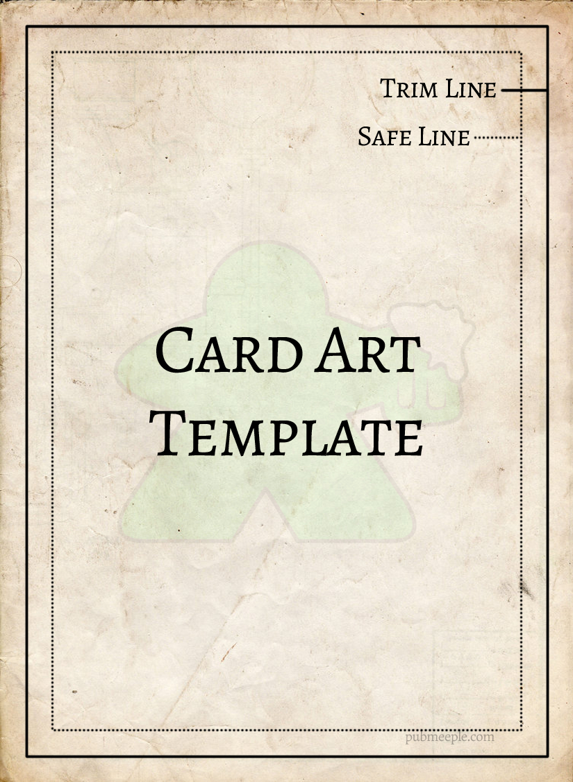 Game Cards Template  Pub Meeple Throughout Mtg Card Printing Template