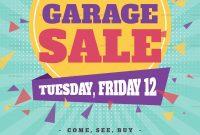 Garage Sale Flyer Template Free Inspirational  Free Yard Sale within Yard Sale Flyer Template Word