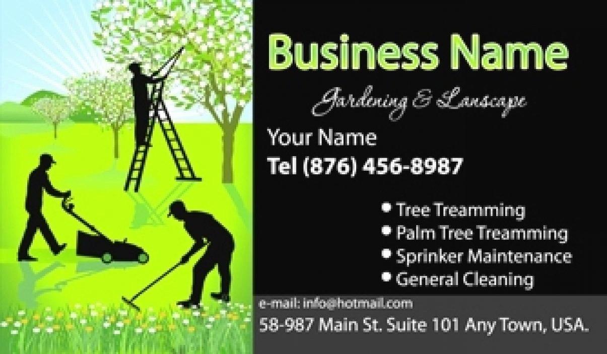 Garden Maintenance Business Cards Inspirational Gardeners And With Regard To Gardening Business Cards Templates