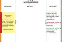 Gate Fold Brochure Template Incredible Ideas Illustrator Double for Gate Fold Brochure Template Indesign