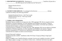 General Service Contractemm  General Contract For Services inside Terms And Conditions Of Business Free Templates