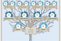 Generation Family Tree Generator  All Templates Are Free To in Blank Family Tree Template 3 Generations
