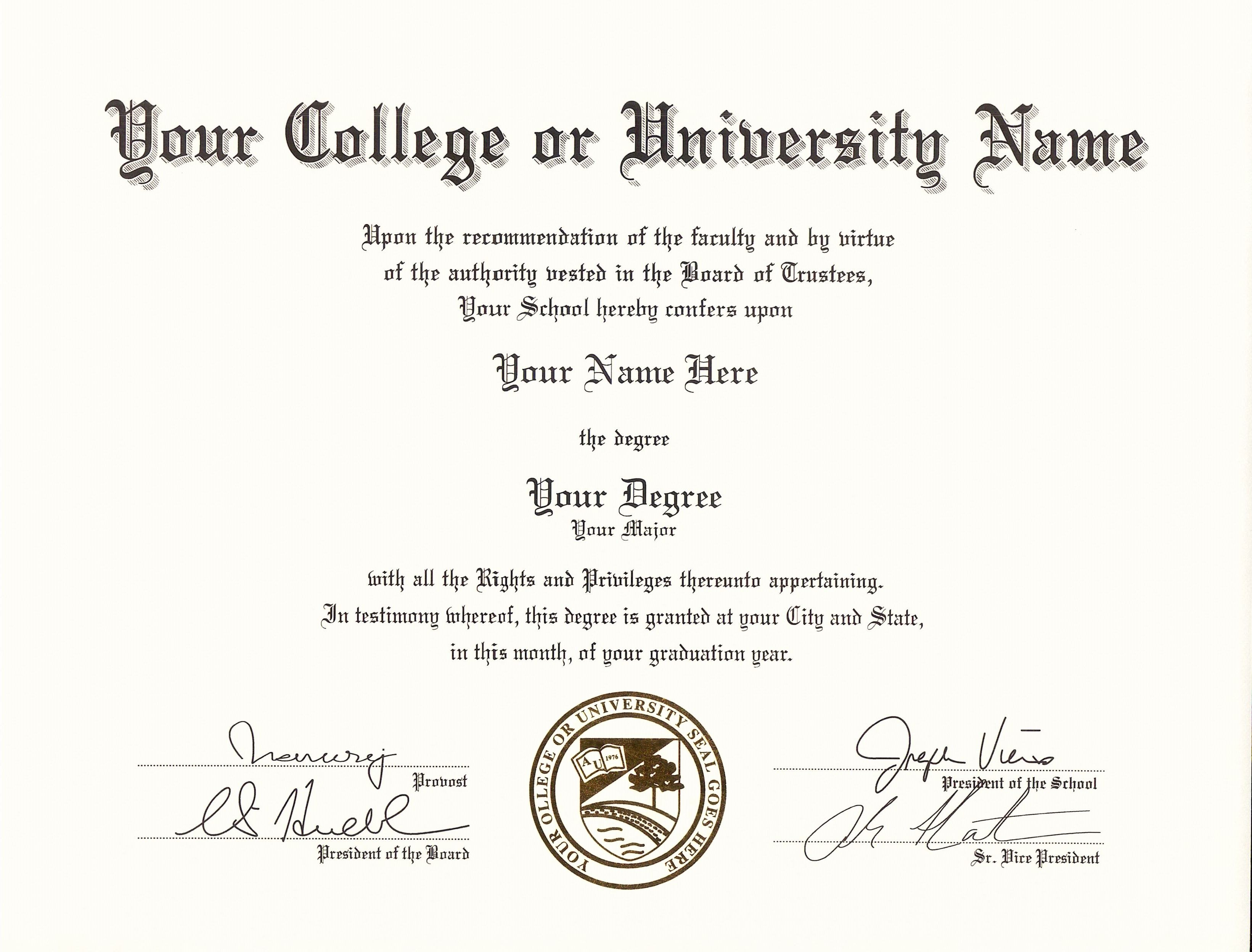 Get Fake Certificatesdiplomas  Transcripts With Real Look In Usa Throughout University Graduation Certificate Template