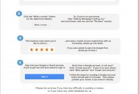 Get Google Reviews In  Minutes Flat  Localvisibilitysystem with regard to Customer Business Review Template