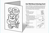 Get Well Soon Card Template   Free Printable Cards  Rizapbeauty throughout Get Well Card Template