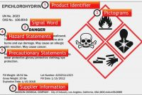 Ghs Label Template Best Of Fine Osha Sds Template Professional within Ghs Label Template