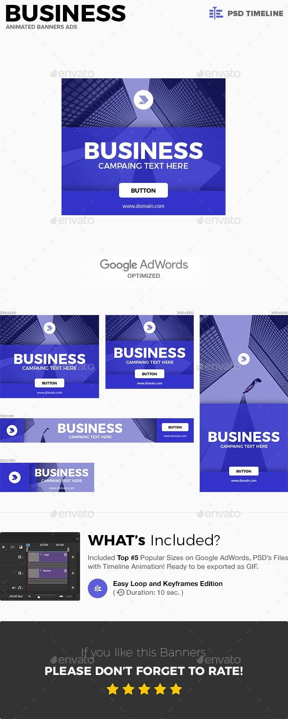 Gif Banners Business Animated Banners Ads Banner Ads Web Within Animated Banner Template