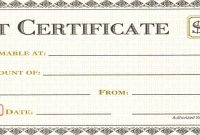 Gift Certificate Template Pages  Tate Publishing News inside Certificate Template For Pages