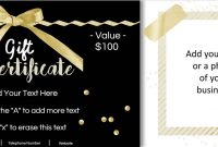 Gift Certificate Template With Logo within Nail Gift Certificate Template Free