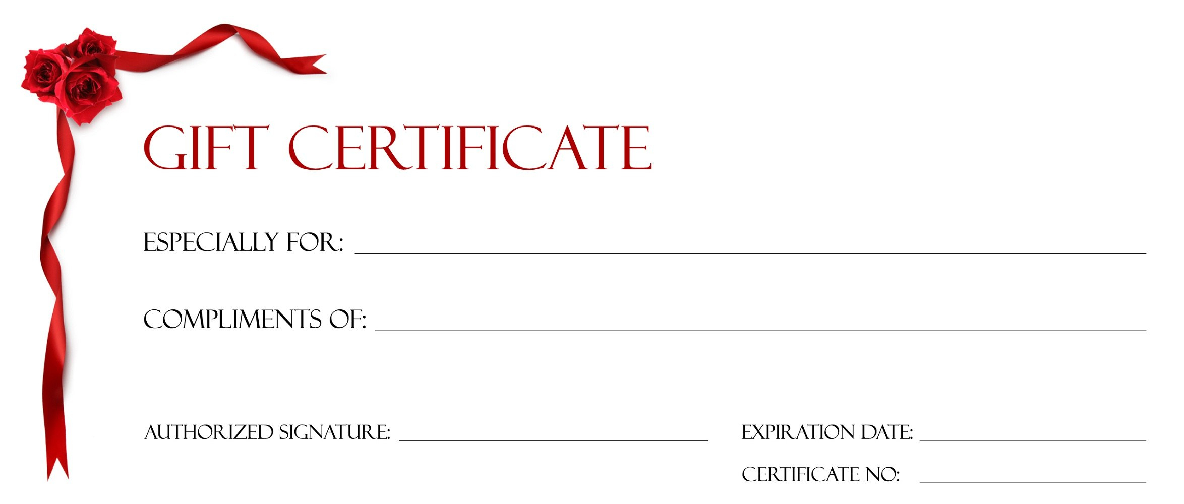 Gift Certificate Templates To Print  Activity Shelter With Regard To Printable Gift Certificates Templates Free