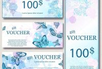 Gift Voucher Template With Mandala Design Certificate For Sport for Magazine Subscription Gift Certificate Template