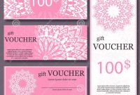 Gift Voucher Template With Mandala Design Certificate For Sport pertaining to Magazine Subscription Gift Certificate Template