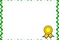 Golden Certificate Frame Png Beautiful Landscape Certificate throughout Landscape Certificate Templates