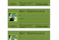 Golf Gift Voucher  Templates At Allbusinesstemplates with regard to Golf Gift Certificate Template