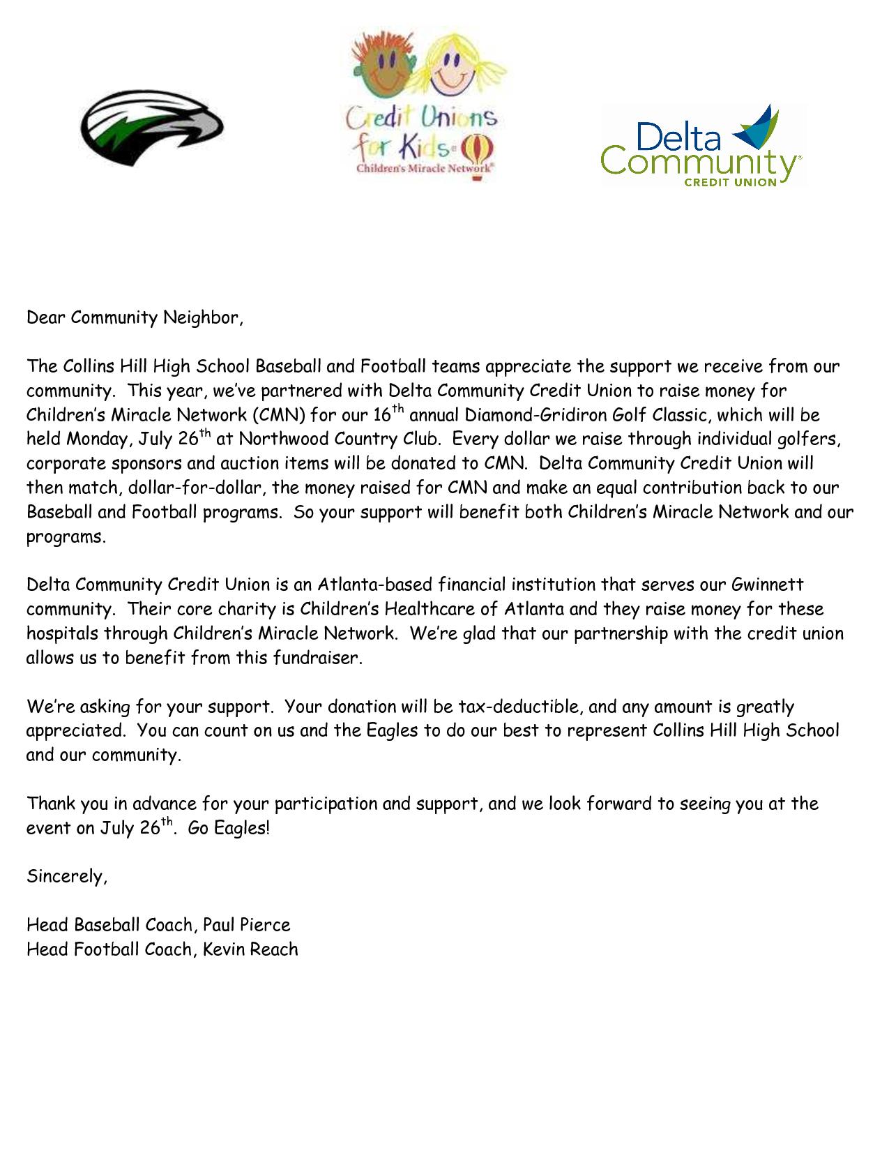 Golf Sponsorship Proposal Template  Camisonline Regarding Golf Tournament Sponsorship Agreement Template
