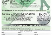 Golf Tournament Sponsorship Form Throughout Golf Tournament Sponsorship Agreement Template