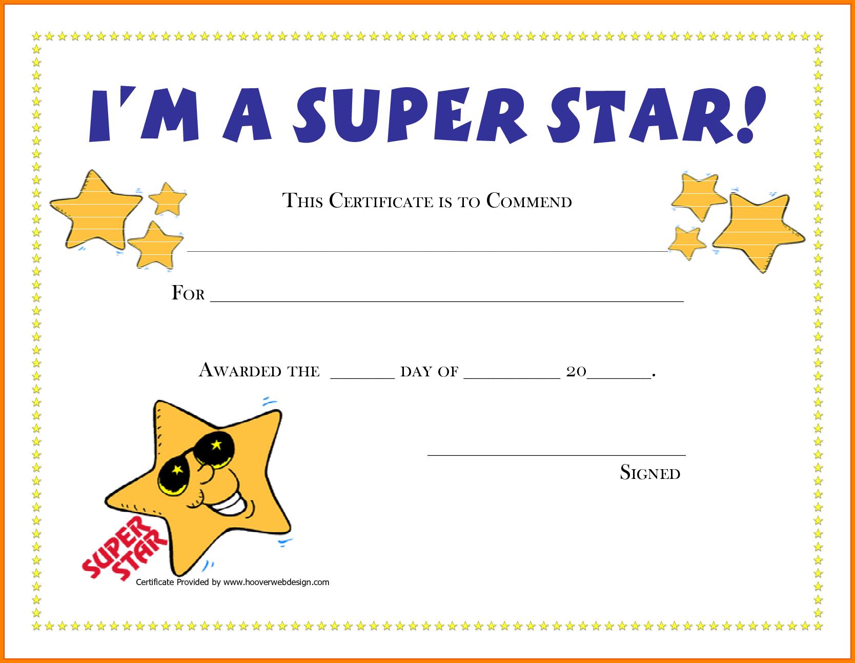 Good Job Award Template  Quick Askips With Regard To Good Job Certificate Template