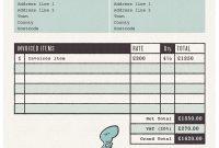 Graphic Design Invoice Template Pdf  Apcc pertaining to Graphic Design Invoice Template Pdf