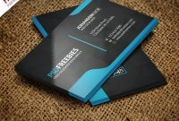 Graphic Designer Business Card Template Free Psd  Psdfreebies for Name Card Template Photoshop