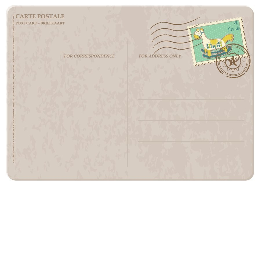Great Postcard Templates  Designs Word  Pdf ᐅ Template Lab With Regard To Post Cards Template